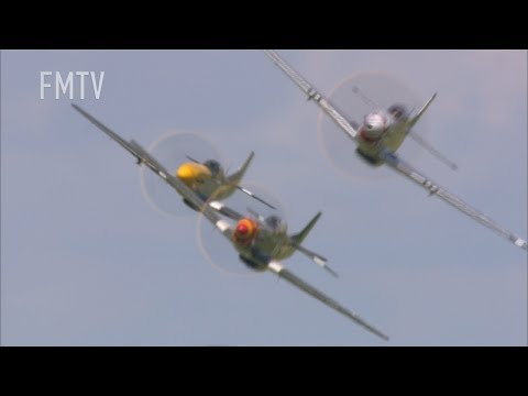 P-51 Mustang Tailchase NO MUSIC -PLAY LOUD!!!