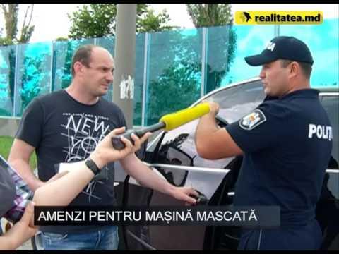 Șoferi trași pe dreapta de polițiști pentru că aveau geamuri umbrite