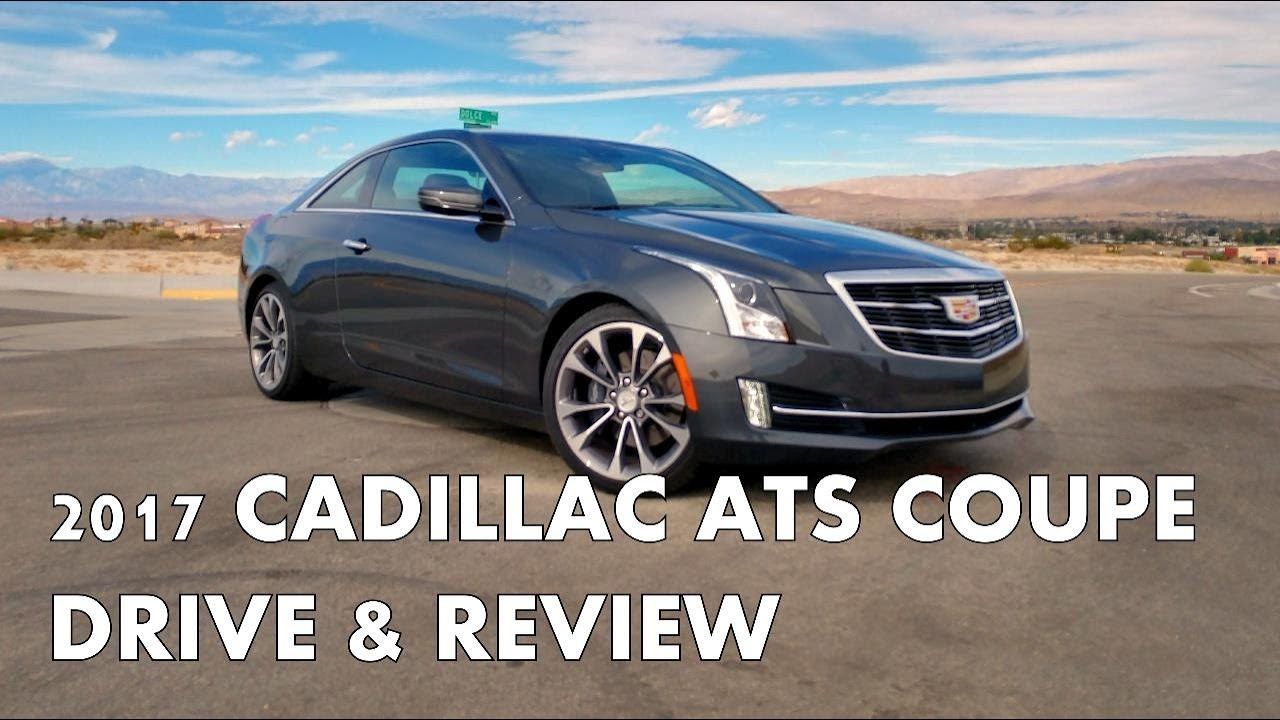 2017 Cadillac Ats Coupe Full Review And Drive Youtube