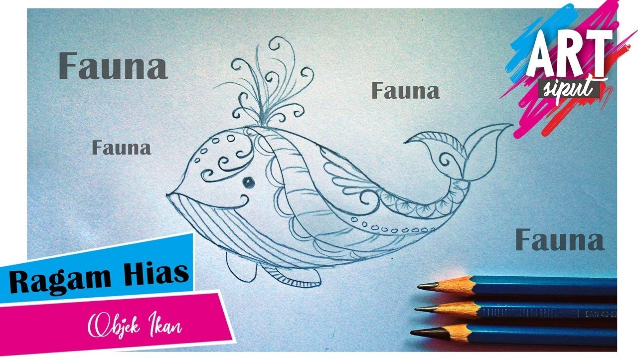 Download 8100 Gambar Ragam Hias Fauna Ikan HD Terpopuler