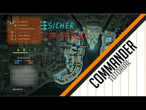 Commander Tutorial // Battlefield 4