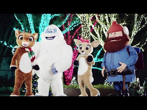 Rudolph's ChristmasTown First Look - Meet Rudolph, Clarice, Bumble and Yukon at SeaWorld Orlando