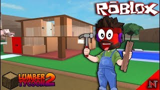 ROBLOX Indonesia #36 Lumber Tycoon2 | End of his house we are DONE 😁😍😁😍