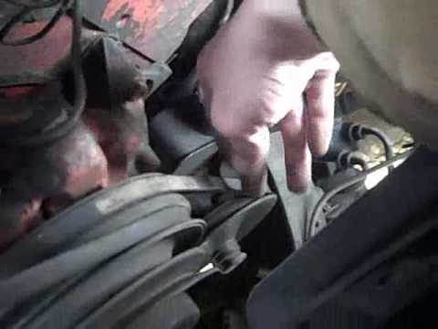 Alternator Belt Tightening - YouTube