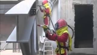 Пескоструйная очистка металлоконструкций(, 2014-02-04T20:10:47.000Z)