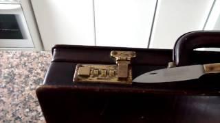 Abrir un maletín sin tener la combinación. Open suitcase lock without combination