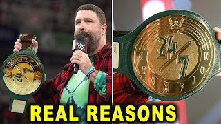 Real Reasons Why the WWE 24/7 Title Was Created