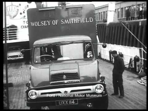 Trader To Paris Ford Thames Trader Trucks 1958