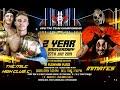 APW 2nd Year Anniversary - Tag Team Championship - The Inmates vs Jett Rouka