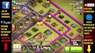 Η καλυτερη επιθεση μου!!! Clash Of Clans greek - clan war ep #3