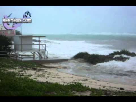 Hurricane Igor Pounding Bermuda's South Shore