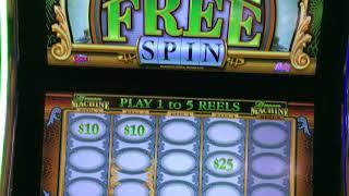 High Limit Green Machine Free Spins