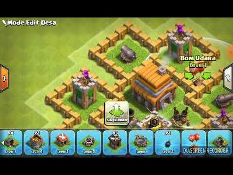 Base Coc Th 5 Anti Balon 3