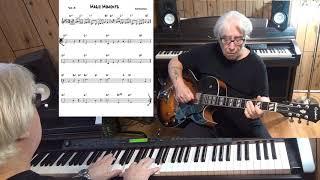 Magic Moments - Jazz guitar & piano cover ( Burt Bacharach )