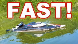 Download lagu BRUSHLESS Fast Self Righting RC Boat - FeiLun FT012 Speed Racing Boat - TheRcSaylors