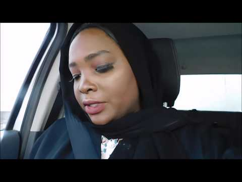 MY FIRST EXPERIENCE DRIVING IN SAUDI ARABIA//ROAD TRIP.#driving