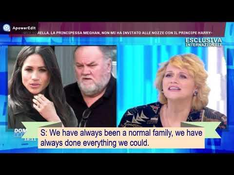SAMANTHA MARKLE SHOCK @DOMENICALIVE!! SUB ENG PT.1