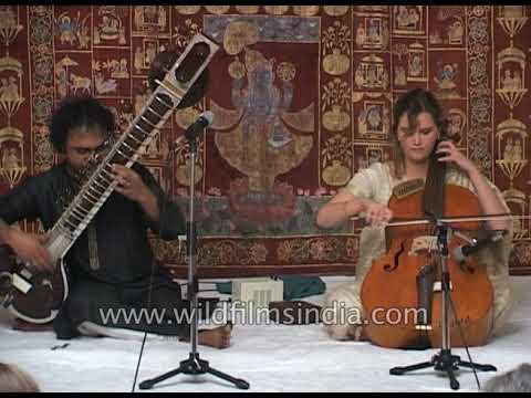Sitarist and Cellist couple from India: Saskia Rao-de Haas and Shubhendra Rao