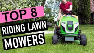 BEST 8: Riding Lawn Mowers 2018