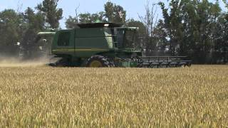 Rice harvest starts in south Louisiana