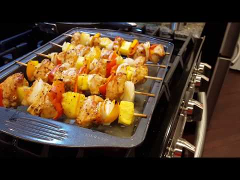 Chicken Kabobs In The Oven In 30 Minutes