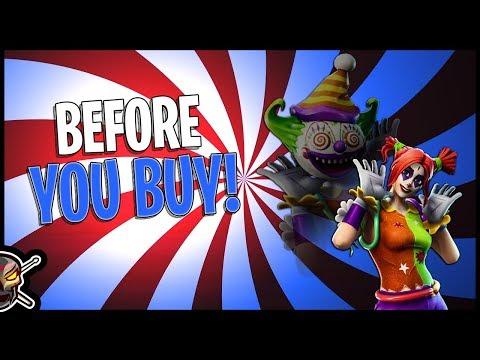 Peekaboo | Cute Clown! - Before You Buy - Fortnite