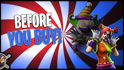 Peekaboo | Cute Clown! - Before You Buy - Fortnite