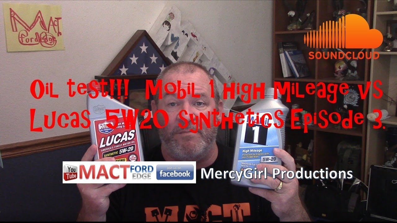 Oil testing series Mobil 1 high mileage VS Lucas 5W20 synthetics by MACT  Garage Episode 3