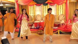 JAITIB AND URMI's holud (Emotional saiyaan performance)