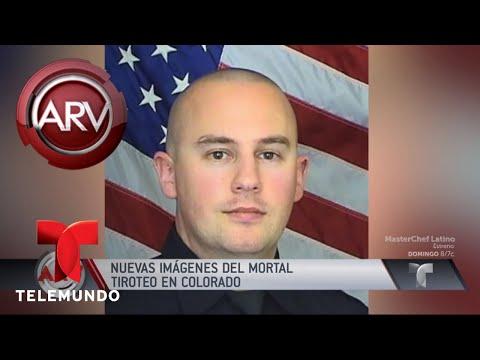Divulgan imágenes de fatal tiroteo en Colorado | Al Rojo Vivo | Telemundo