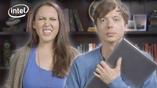 Friends Swap Laptops // Presented By BuzzFeed & Intel thumbnail