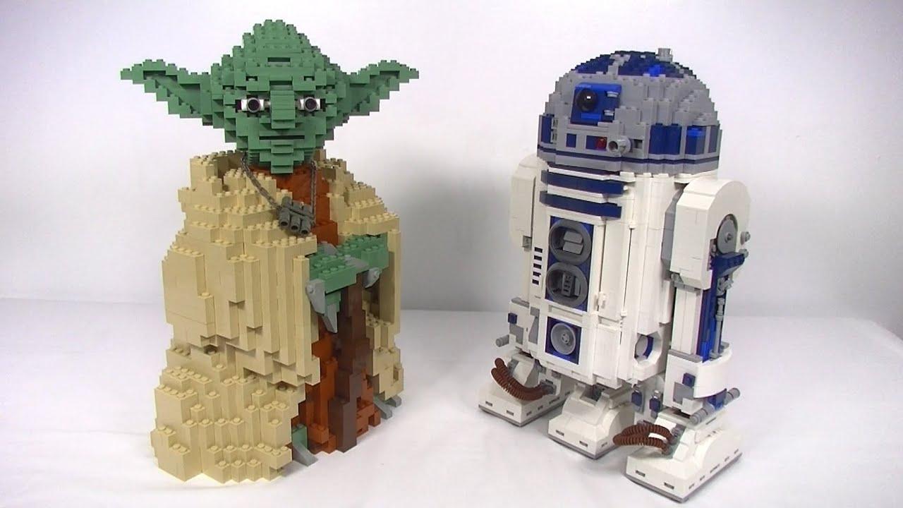 lego star wars ucs yoda 7194 review comparison - Lego Yoda