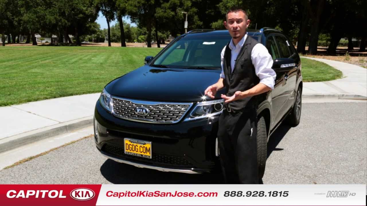 2014 Kia Sorento Model Line Video | Capitol Kia | DGDG.COM | San Jose, CA    YouTube