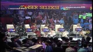 """Fauzi """" Bima """" dan Sham """" Garut """" Pemenang Konser Seleksi KDI Episode 15 (30/3)"""