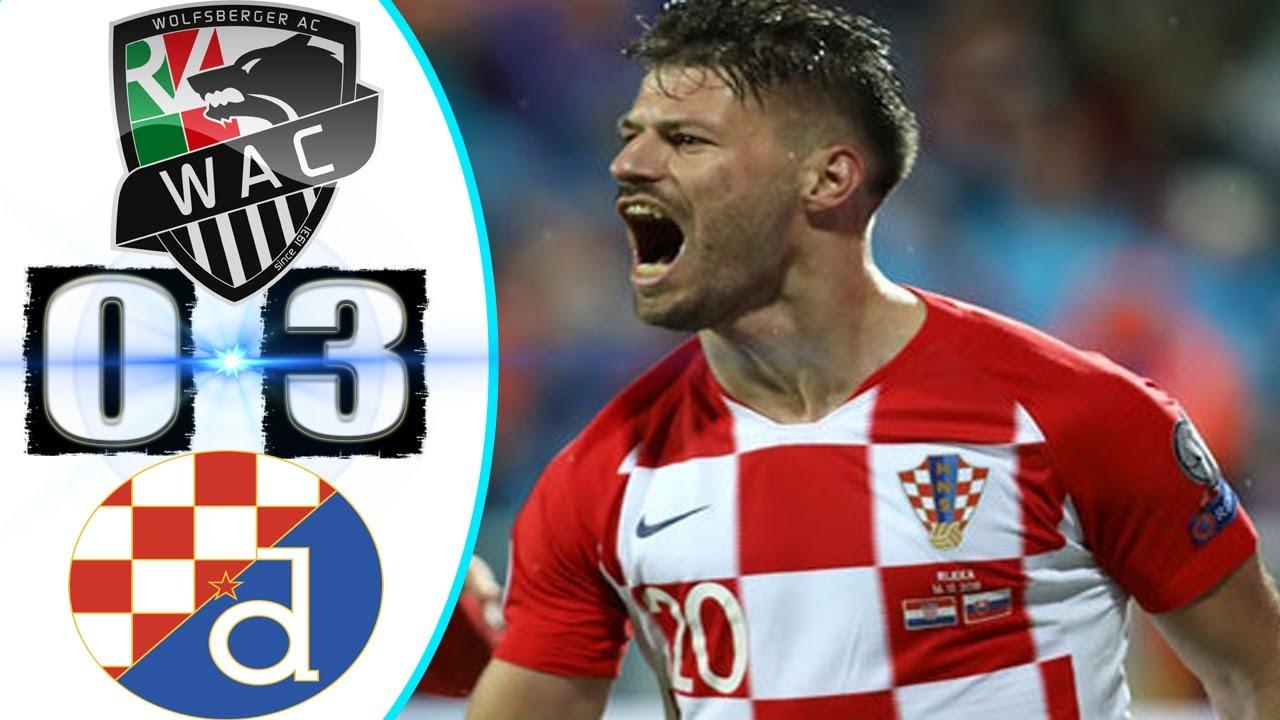 Wolfsberger Ac Vs Dinamo Zagreb 0 3 Europa League Group K Result All Goal Nov 2020 News Youtube