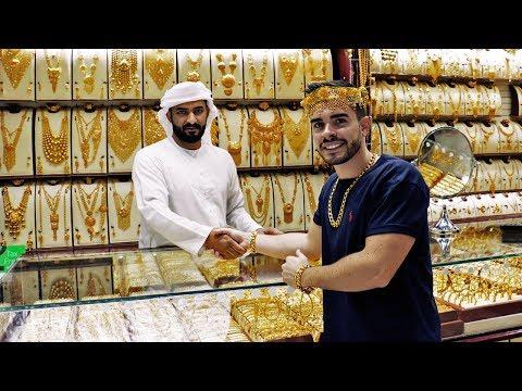 LA CIUDAD CON MAS ORO DEL MUNDO | SOLO EN DUBAI