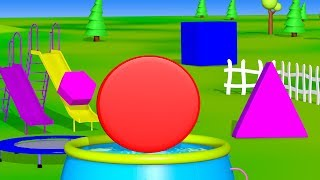 Teaching Shapes To Kindergarten | Activities For Teaching Shapes | Kids Nursery Rhymes