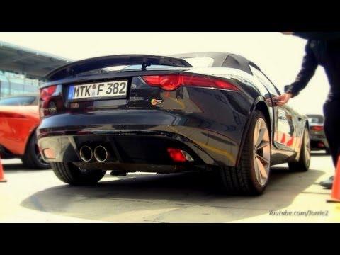 2014 Jaguar F-Type S SOUND!! - 1080p HD