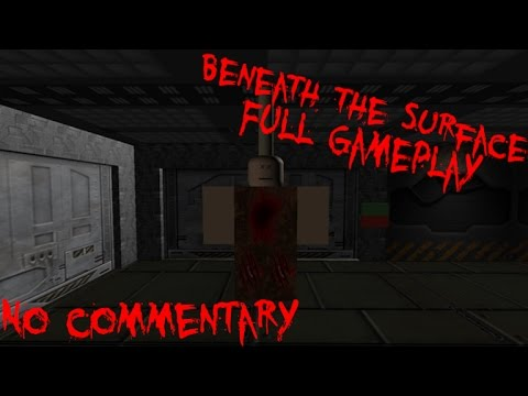 Roblox: Beneath the Surface - Full Gameplay - No Commentary