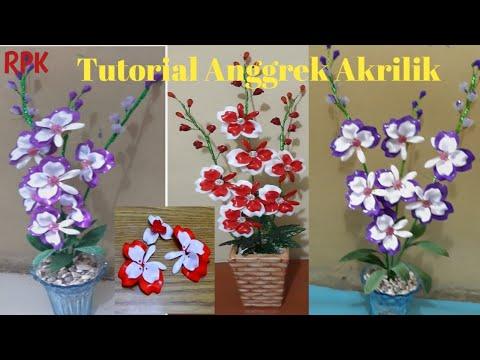 cara-membuat-bunga-anggrek-akrilik---prakarya