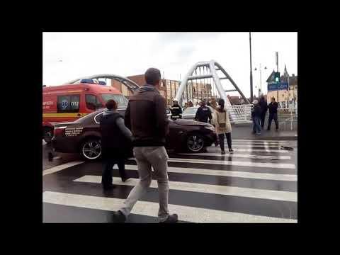 Accident cu Bataie in Sibiu# Langa piata Cibin#23octombrie 2017