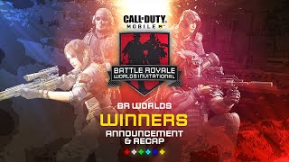 Battle Royale Worlds Invitational: Winners | Call of Duty®: Mobile