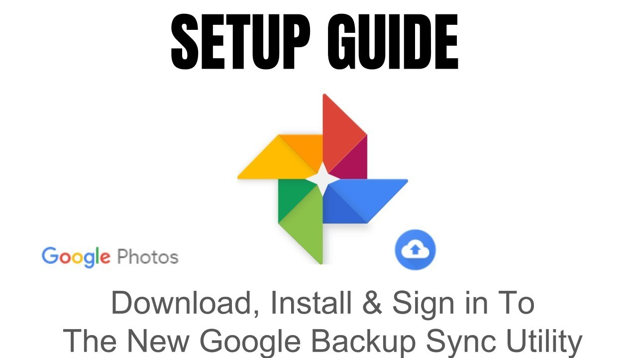 google backup and sync photos