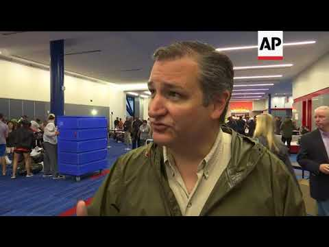 Texas Senator Cruz: This is not a time for politics