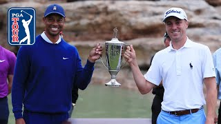 Tiger Woods and Justin Thomas' winning highlights from Payne's Valley Cup