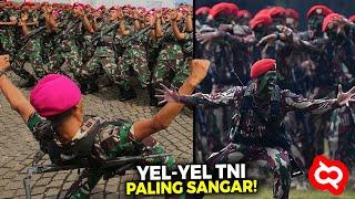 Gak Cuma Terpesona, Inilah Ragam Yel-yel Komando Pasukan Elit Khusus TNI yang Unik dan Seru