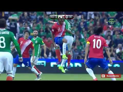 México vs Costa Rica 2-0 Eliminatorias mundialistas Rusia 2018 tv azteca HD