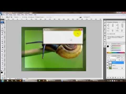 Tạo khung ảnh bằng Photoshop CS2 Full HD Part 1