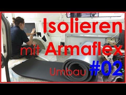 Isolieren Mit Armaflex Vw T4 Camper Ausbau 02 Youtube