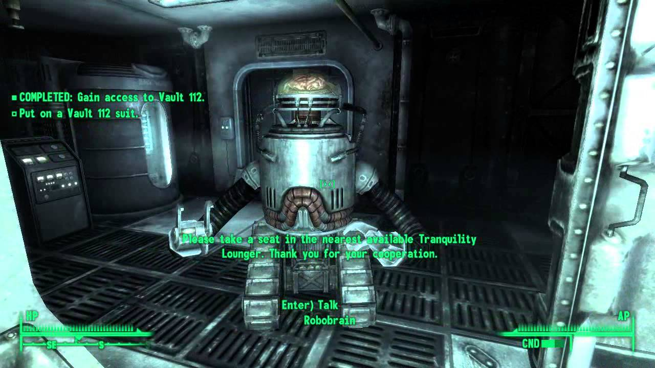 Let S Play Fallout 3 067 Vault 112 Youtube